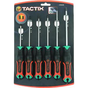 TACTIX - SCREWDRIVER 6PC SET TORX