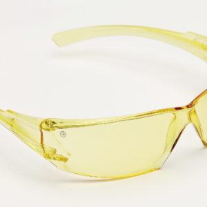 9145 Safety Glasses Amber Lens