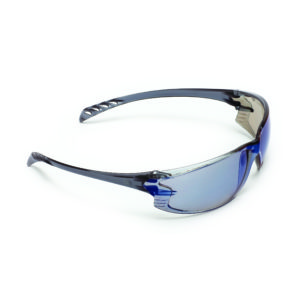 9903 Series  Safety Glasses Blue Mirror Lens