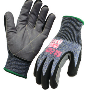 Cut Resistant Heavy Duty Liner Glove with Foam Nitrile/Synthetic Leather palm