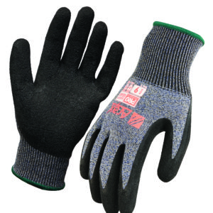 Cut Resistant Dry Grip Liner Glove with Latex Dip Palm