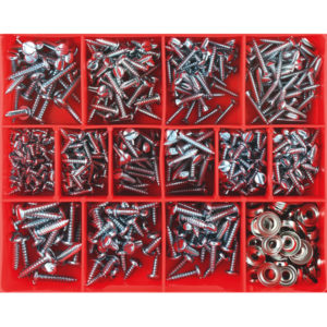 610PC SLOTTED SELF TAPPING SCREW ASSORTMENT
