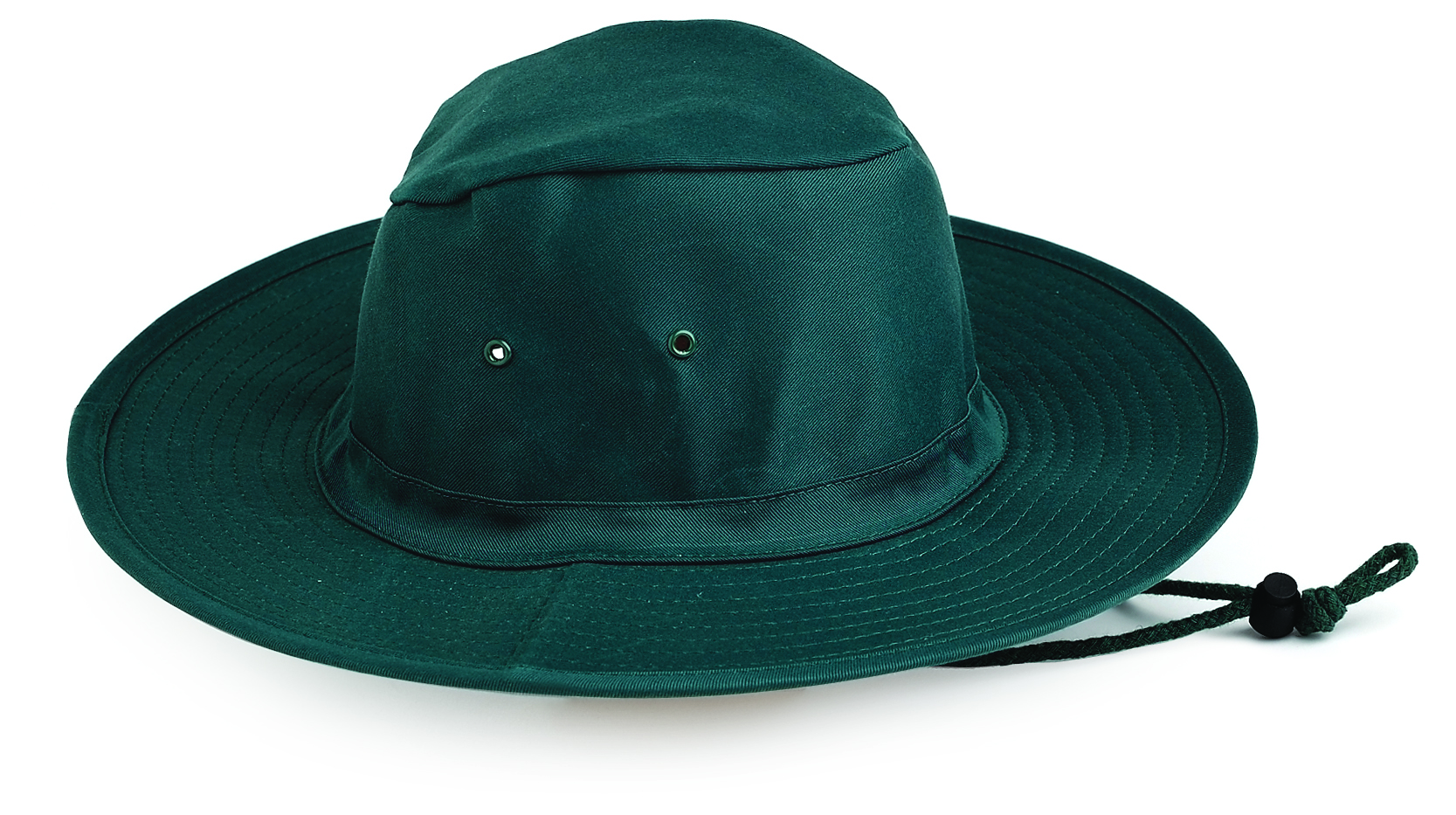 Poly / Cotton Sun Hat  (GREEN)
