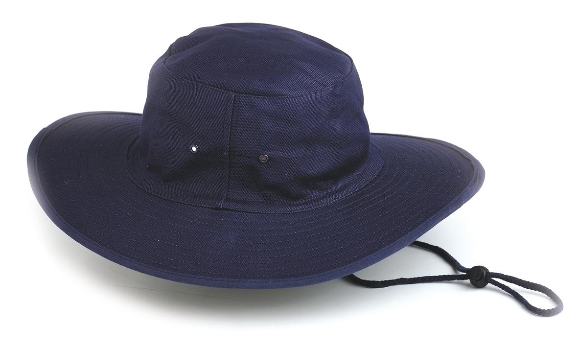 Poly / Cotton Sun Hat  (BLUE) X-Large