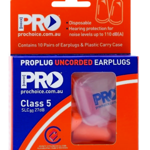 ProBullet Disposable Uncorded Earplugs (10 Pack)