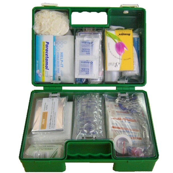 6-25 Person First Aid Kit - Plastic Box