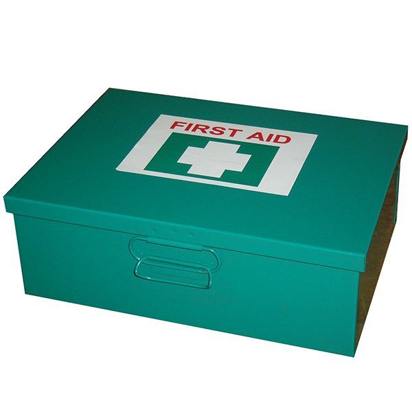 6-25 Person First Aid Kit - Metal Box