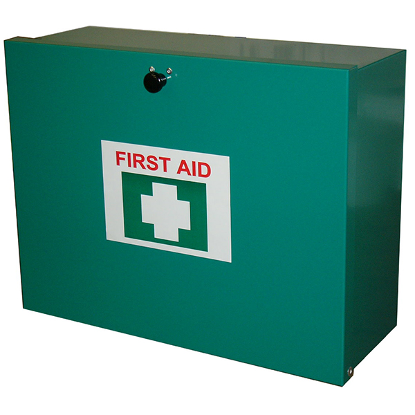 6-25 Person First Aid Kit - Metal Wall Mountable