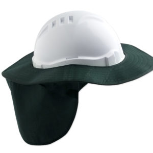 Detachable Hard Hat Brim - Green