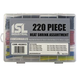 220PC ISL HEAT SHRINK ASSORTMENT 5-13MM X 45MM
