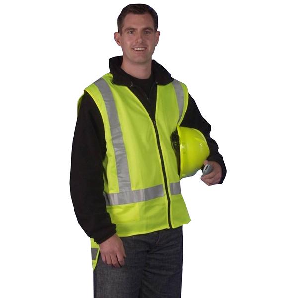 High Visibility TTMC Vests - Yellow
