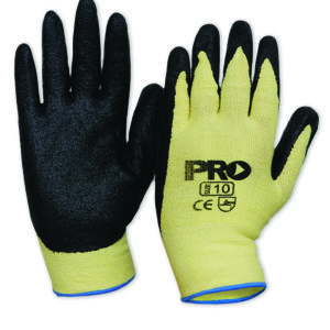 Cut Resistant Liner Glove with rubber back