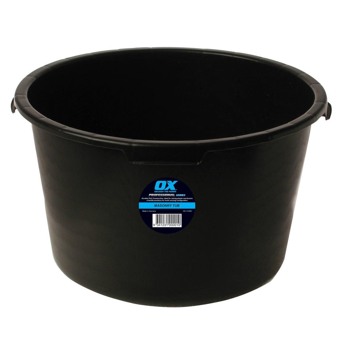 OX Prof Masonary Tub 65Ltr