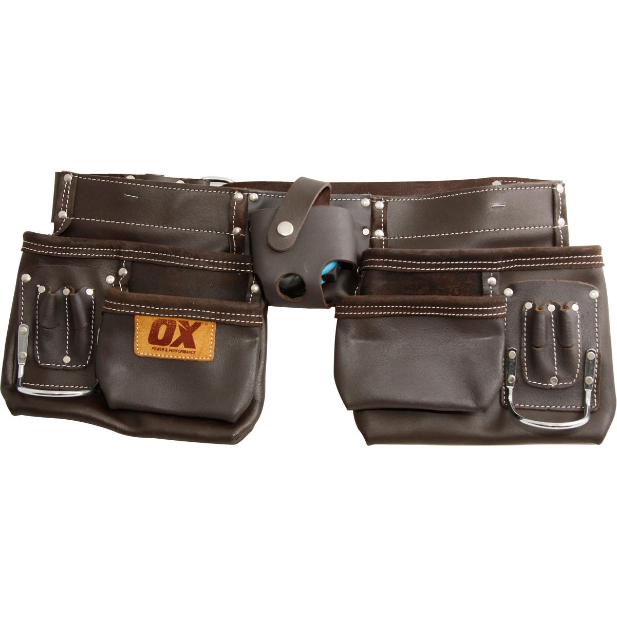 OX Prof Oil Tanned Leather Tool Pouch 36
