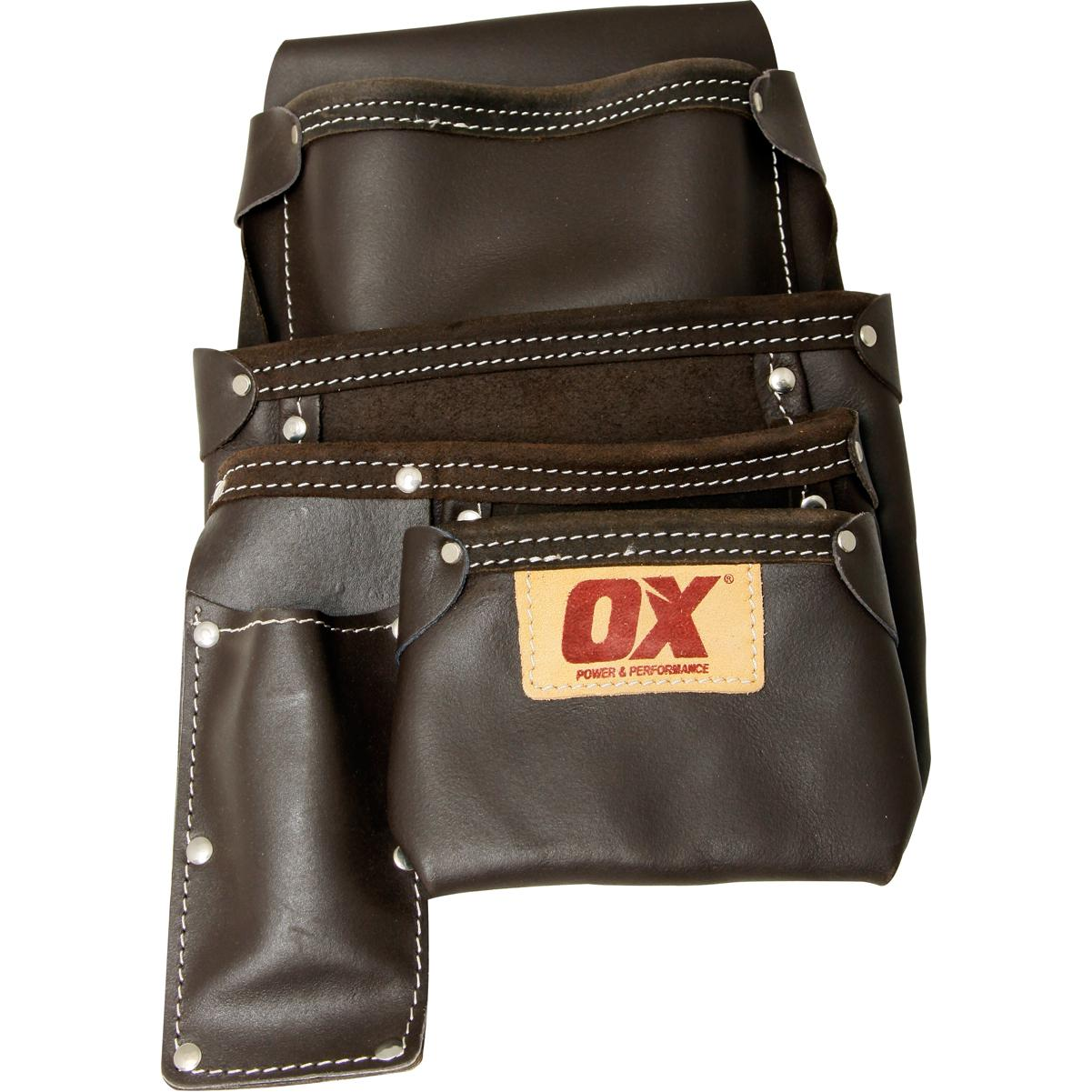 OX Prof Oil Tanned Leather Framers Pouch