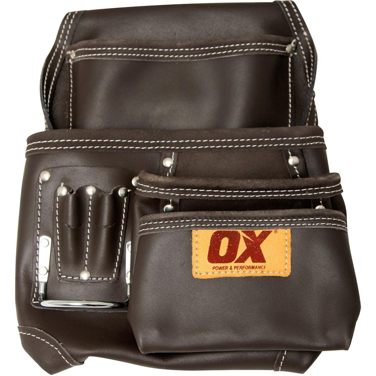 OX Prof Oil Tanned Leather Nail Pouch