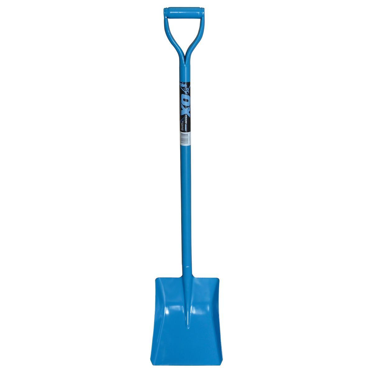 OX Trade Sqr mouth Shovel D Grip Hdl-120