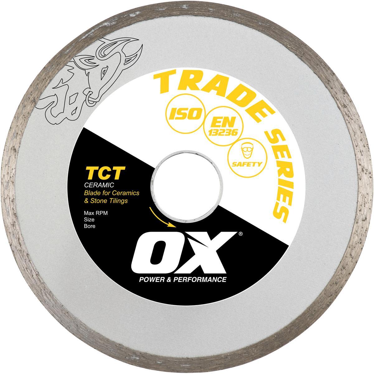 OX Trade 4.5 Ceramic Blade