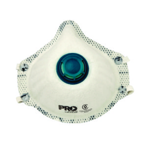 Respirator with Valve and Carbon Filter P2