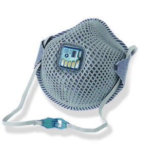 Respirator Mesh with Valve and Carbon Filter P2