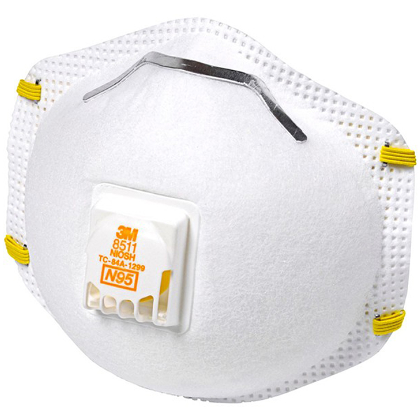 3M P2 Respiratory Masks With Valves