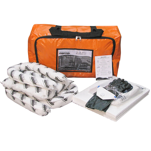 SpillTech 50L Oil Only Spill Kit