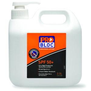 SPF 50+ Sunscreen 2.5L Pump Bottle
