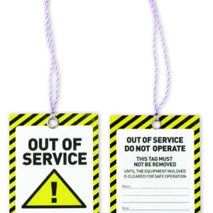 CAUTION Safety Tags 125mm x 75mm