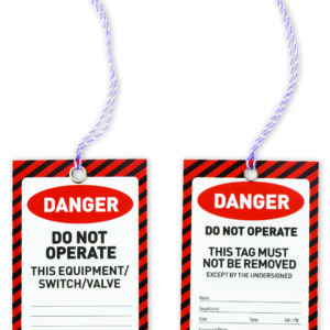 DANGER Safety Tags 125mm x 75mm