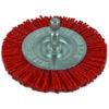 ITM Nylon Spindle Mounted Wheel Brush 50mm