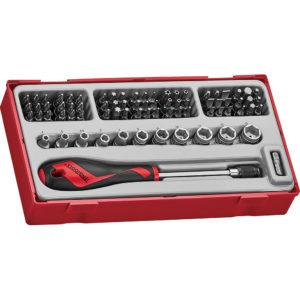 Teng 76pc MD Bits & Socket Set - TC-Tray