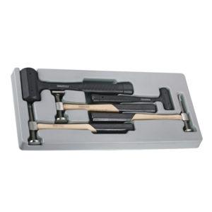 Teng 5pc Auto Body Hammer Set - PS-Tray
