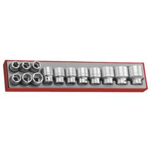 14PC 3/4IN DR. 6-PNT SOCKET SET 19-50MM