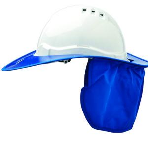 Shade Halo V6 Plastic Hard Hat Brim - Blue