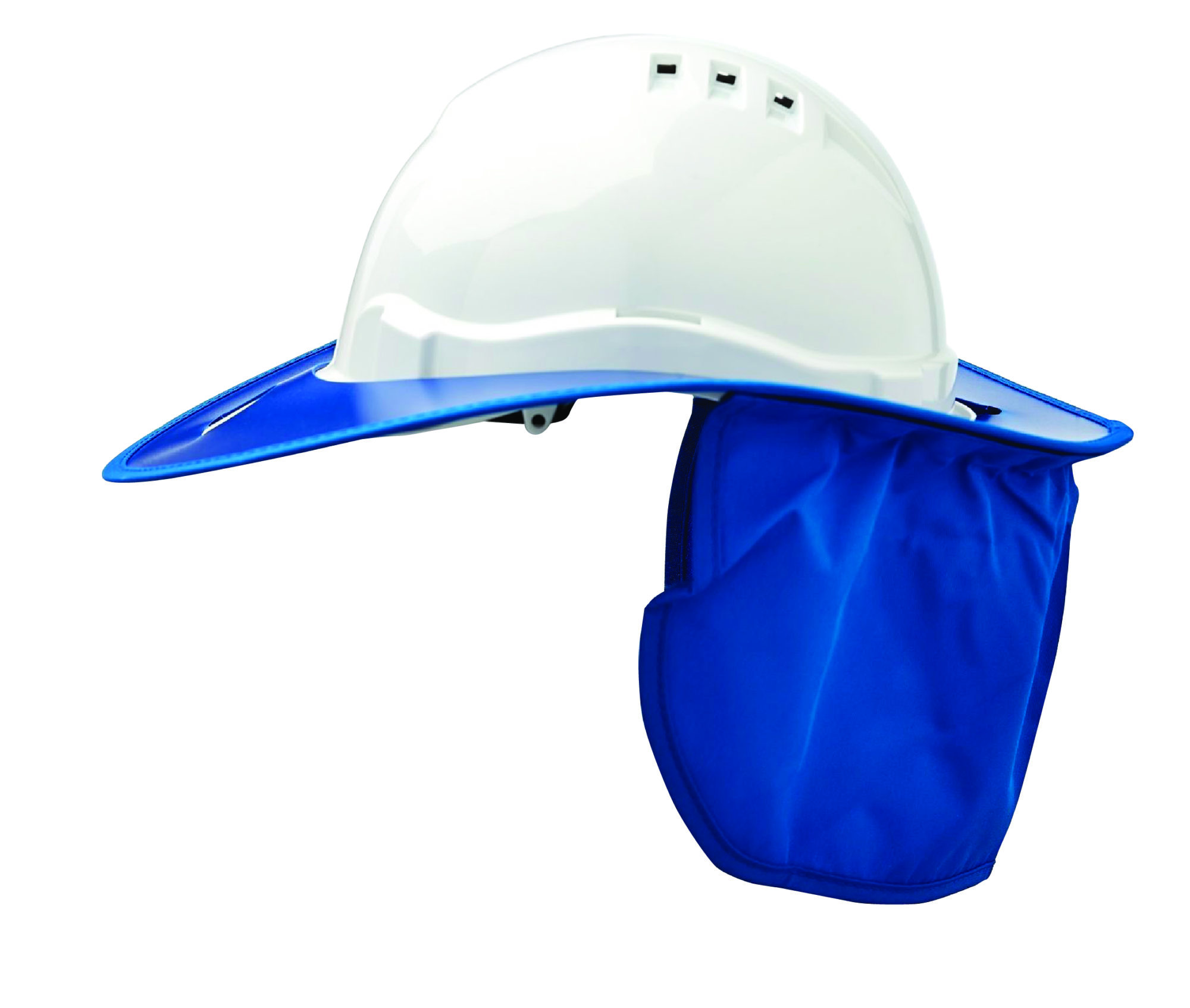 852132459a0 Shade Halo V6 Plastic Hard Hat Brim - Blue – Tool and Safety Warehouse