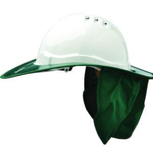 Shade Halo V6 Plastic Hard Hat Brim - Green