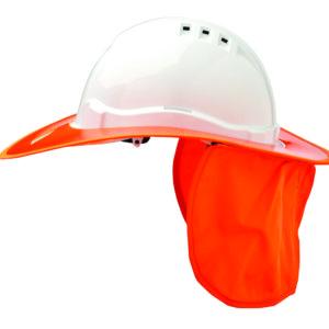 Shade Halo V6 Plastic Hard Hat Brim - Fluro Orange