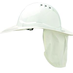 Shade Halo V6 Plastic Hard Hat Brim - White