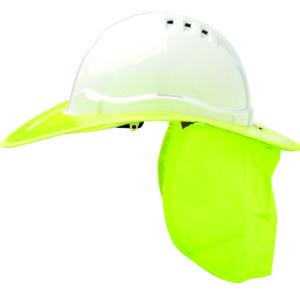 Shade Halo V6 Plastic Hard Hat Brim - Fluoro Yellow
