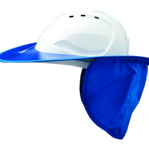 Shade Halo V9 Plastic Hard Hat Brim - Blue