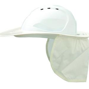 Shade Halo V9 Plastic Hard Hat Brim - White
