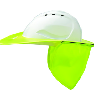 Shade Halo V9 Plastic Hard Hat Brim - Fluoro Yellow