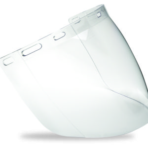 Clear Polycarbonate Visor to fit BG & HHBGE